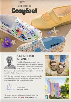 Cosyfeet offers in the Bristol catalogue