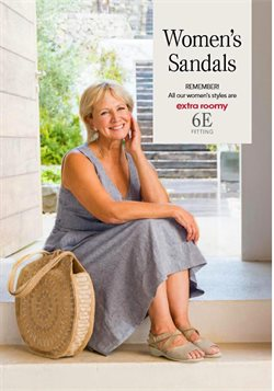 Sandals offers in the Cosyfeet catalogue in London