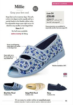 Sales offers in the Cosyfeet catalogue in London