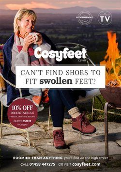 Cosyfeet offers in the Leicester catalogue