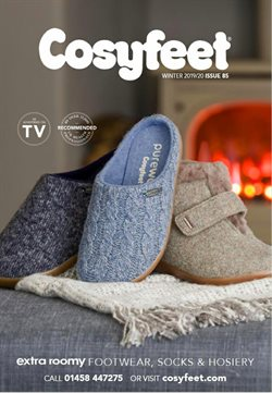 Cosyfeet catalogue in London ( More than a month )