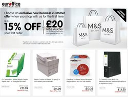 Books & Stationery offers in the Euroffice catalogue ( 6 days left)