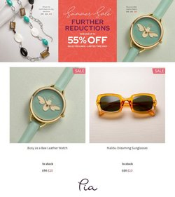 Pia Jewellery offers in the Pia Jewellery catalogue ( Expires today)