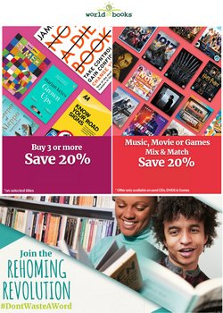Books & Stationery offers in the World Of Books catalogue ( 13 days left)
