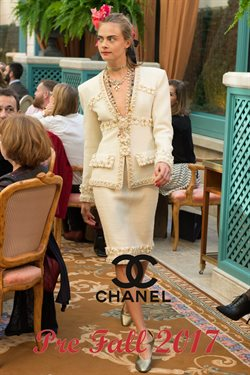 Luxury brands offers in the Chanel catalogue in London
