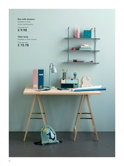 Lamp offers in the Søstrene Grene catalogue in London