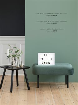 Painting offers in the Søstrene Grene catalogue in London