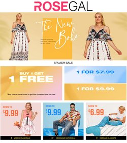 Rosegal offers in the Rosegal catalogue ( Published today)