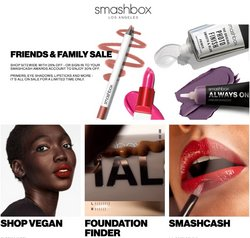 Pharmacy, Perfume & Beauty offers in the Smashbox catalogue ( 8 days left)