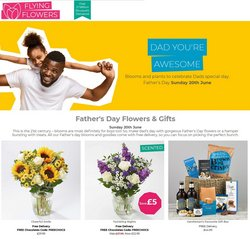 Flying Flowers offers in the Flying Flowers catalogue ( 18 days left)