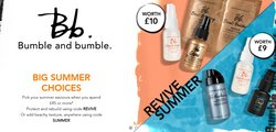 Pharmacy, Perfume & Beauty offers in the Bumble and Bumble UK catalogue ( 15 days left)