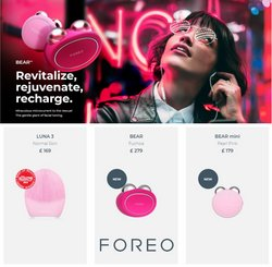 Pharmacy, Perfume & Beauty offers in the Foreo catalogue in Woburn Sands ( 2 days ago )
