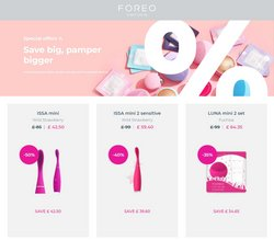 Foreo offers in the Foreo catalogue ( 26 days left)