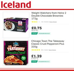 Pizza offers in the Iceland catalogue in Oxford
