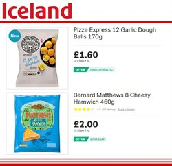 Pizza offers in the Iceland catalogue in Barking-Dagenham