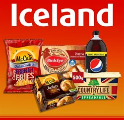 Iceland offers in the Camden catalogue