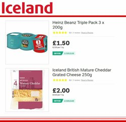 Cheese offers in the Iceland catalogue in Brighton