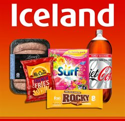 Iceland offers in the Liverpool catalogue