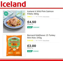 Turkey offers in the Iceland catalogue in London