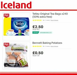 Bags offers in the Iceland catalogue in Leicester