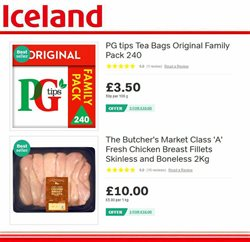 Chicken offers in the Iceland catalogue in York