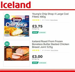 Dairy offers in the Iceland catalogue in London
