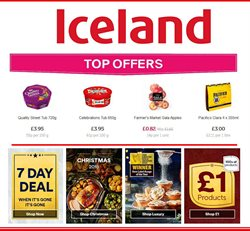 Queen Street Shopping Centre offers in the Iceland catalogue in Darlington