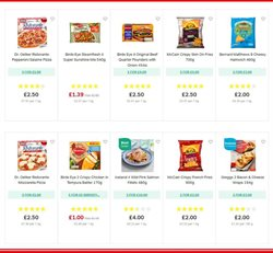 Pizza offers in the Iceland catalogue in Bolton