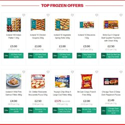 Pizza offers in the Iceland catalogue in Runcorn