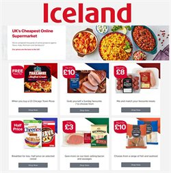Pizza offers in the Iceland catalogue in Kettering