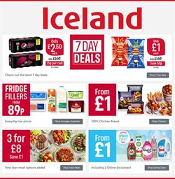 Iceland catalogue in Liverpool ( Expires today )