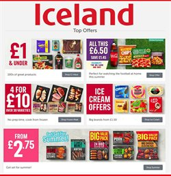 Iceland catalogue in Blackpool ( 22 days left )