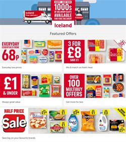 Supermarkets offers in the Iceland catalogue in West Bromwich ( 1 day ago )