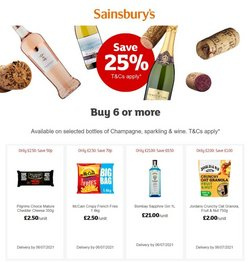 Sainsbury's offers in the Sainsbury's catalogue ( 1 day ago)