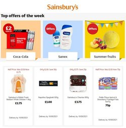 Sainsbury's offers in the Sainsbury's catalogue ( 6 days left)