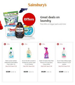 Sainsbury's offers in the Sainsbury's catalogue ( Expires today)