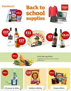 Sainsbury's catalogue ( 8 days left)