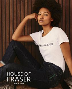 Department Stores offers in the House of Fraser catalogue in Nottingham ( 5 days left )