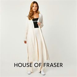 House of Fraser catalogue ( More than a month )