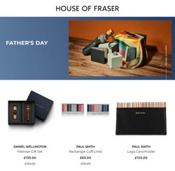 Department Stores offers in the House of Fraser catalogue ( 2 days left)