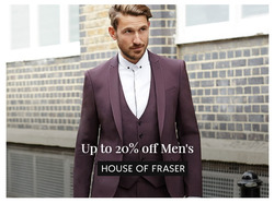 House of Fraser offers in the Liverpool catalogue