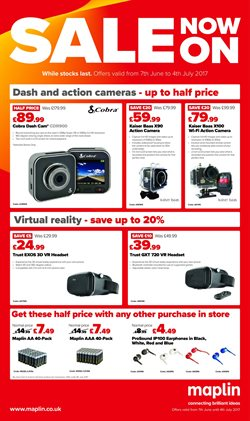 Electricals offers in the Maplin catalogue in London