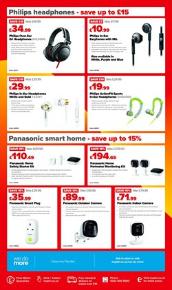Maplin offers in the Leeds catalogue