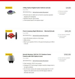 TV offers in the Maplin catalogue in London