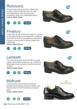 Offers of Richmond in WIDE FIT SHOES