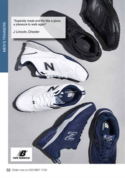 New Balance offers in the WIDE FIT SHOES catalogue ( More than a month)