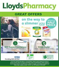 Pharmacy, Perfume & Beauty offers in the Lloyds Pharmacy catalogue in London