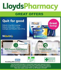 Lloyds Pharmacy offers in the Aberdeen catalogue