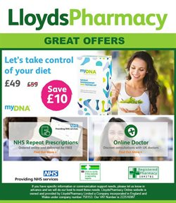 Pharmacy, Perfume & Beauty offers in the Lloyds Pharmacy catalogue in Barking-Dagenham