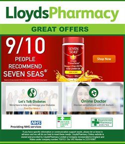 Pharmacy, Perfume & Beauty offers in the Lloyds Pharmacy catalogue in Lewisham